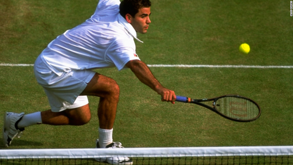 Wimbledon's most successful male player, Pete Sampras, had a phenomenal all-round game, and the American's serve and volley expertise was one of his most potent weapons as he won seven titles and 14 grand slams overall.