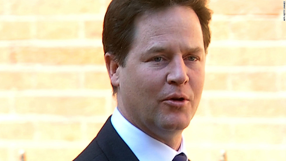 UK Deputy Prime Minister Nick Clegg (pictured) announced during the summit that the UK government will require all 1,800 firms listed on London's Stock Exchange to list their greenhouse gas emissions starting in April 2013.