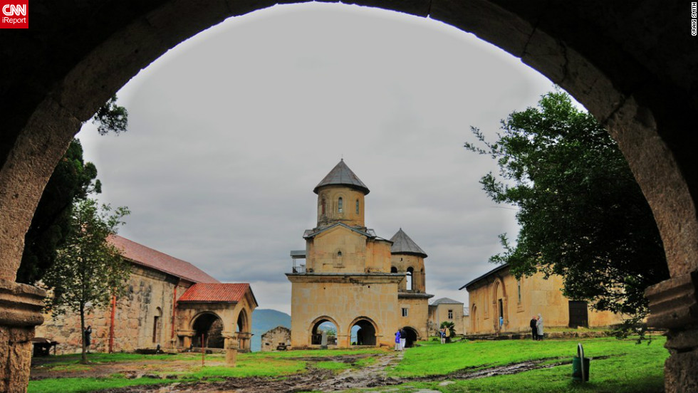 """If you are in the Eastern Black Sea area, visit Georgia!"" says iReporter, Craig Smith. He snapped this image of a picturesque rural church when he stopped off in the country as part of a Black Sea cruise in 2010."