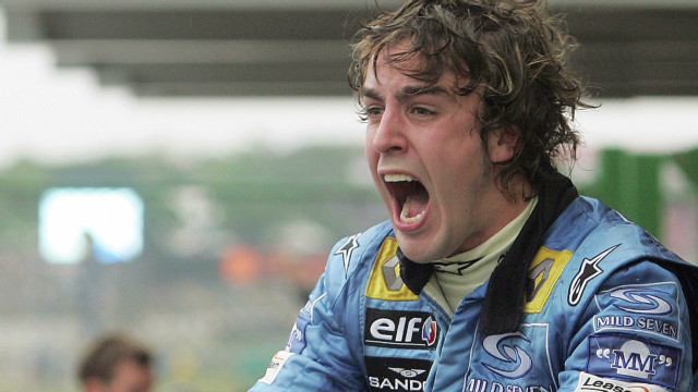Fernando Alonso's drive to the top