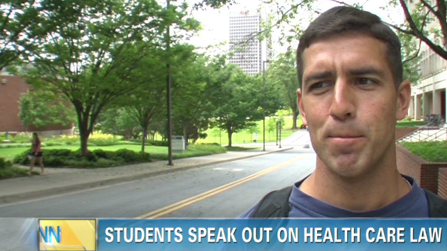 Students speak out on 'Obamacare'