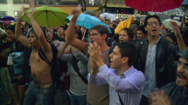 Mexican youth fed up with media
