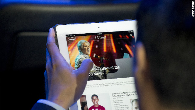 A new Pew survey explores how smartphones and tablets are changing consumption of news.