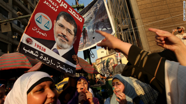 Egypt president-elect's message of unity