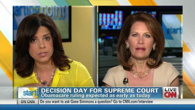 Bachmann: 'Mandate' essentially a tax