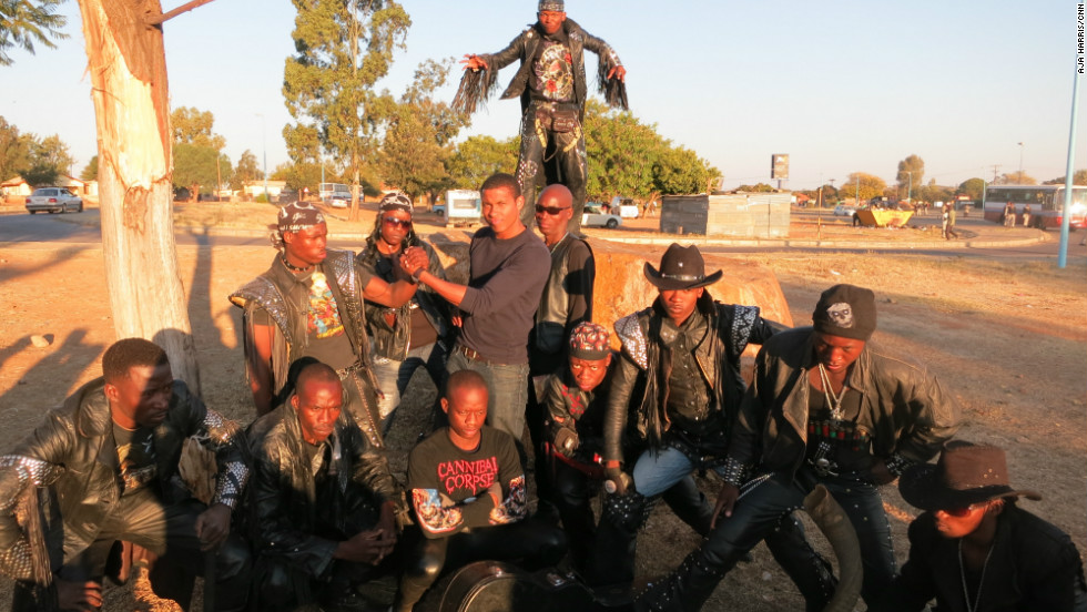 "CNN's Errol Barnett -- or ""Killah"" as he was dubbed by Gunsmoke -- gets down with the rockers for Inside Africa in 2012."
