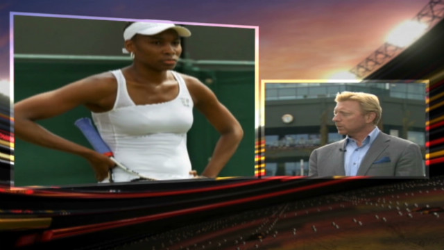Becker: Venus Williams' future in doubt