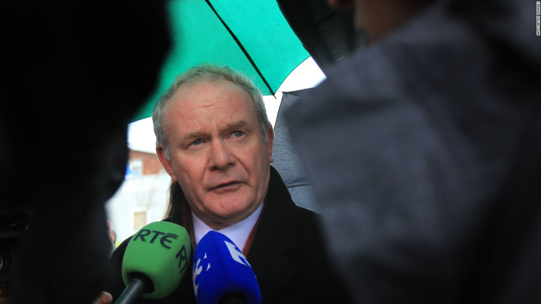 "<a href=""http://www.cnn.com/2017/03/21/europe/martin-mcguinness-dead/index.html"" target=""_blank"">Martin McGuinness</a>, the former Irish Republican Army commander who was also a deputy first minister of Northern Ireland, died March 21 after a short illness, according to a statement released by the Sinn Fein party. He was 66. McGuinness became Sinn Fein's chief negotiator during the Northern Ireland peace process, working with US President Bill Clinton on the 1998 Good Friday Agreement."