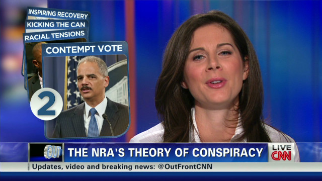 NRA watching Holder contempt vote