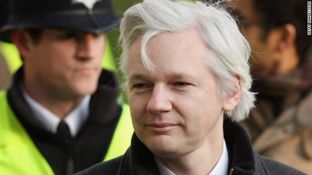Julian Assange, seen here on February 1, 2012, will remain inside the Ecuadorian Embassy in London.