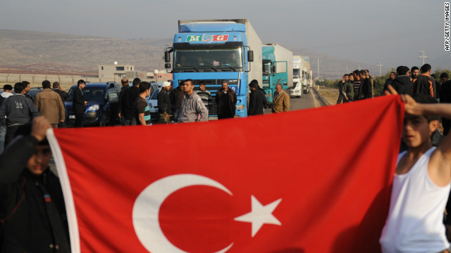 Tensions between Turkey, Syria continue to rise