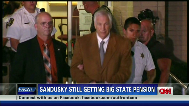 Sandusky still eligible for pension