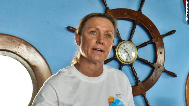 Australian Penny Palfrey, 49, will attempt to swim from Cuba to Florida on Friday.