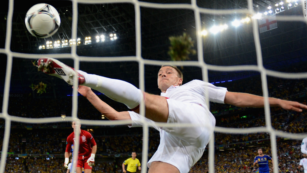 Ukraine needed to beat England to qualify from Group D, but went behind as Wayne Rooney scored on his return from suspension. Artem Milevskiy thought he had leveled when his shot appeared to cross the goal line, but John Terry cleared and England advanced alongside France.