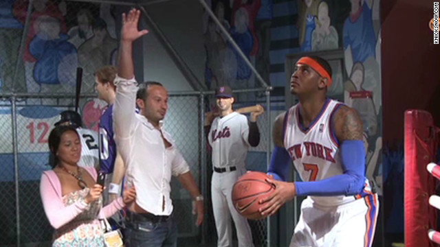 Watch Carmelo Anthony prank tourists