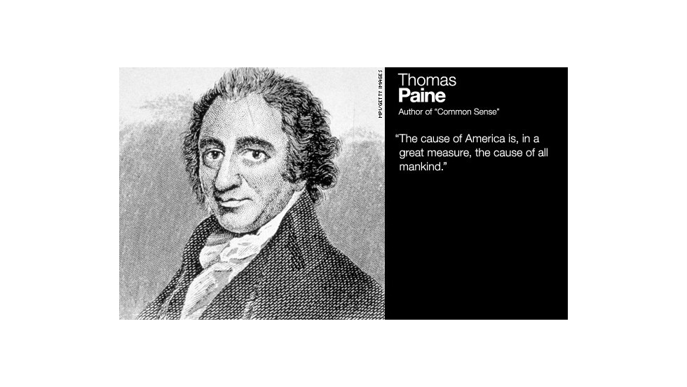 thomas paine biography Thomas paine, often called the godfather of america was an eighteenth century writer who used propaganda and persuasion techniques to motivate americans in the fight for freedom from britain.