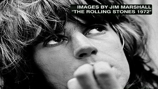 Never-seen pics of Rolling Stones in '72