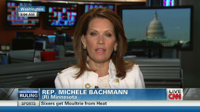 Bachmann: Don't implement Obamacare