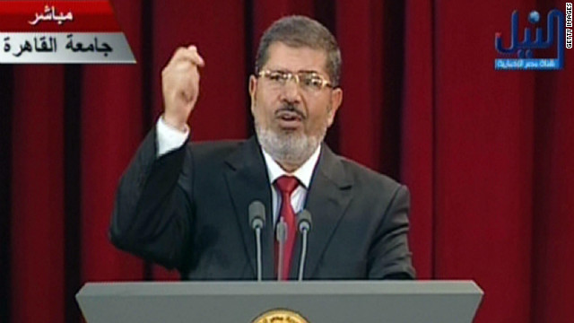 Egypt swears in new president