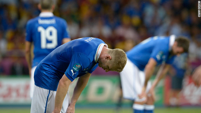 Euro 2012 result disappoints Italy fans