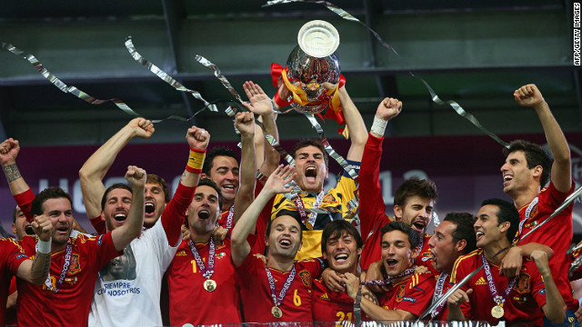 Spain win Euro 2012, 4-0 over Italy