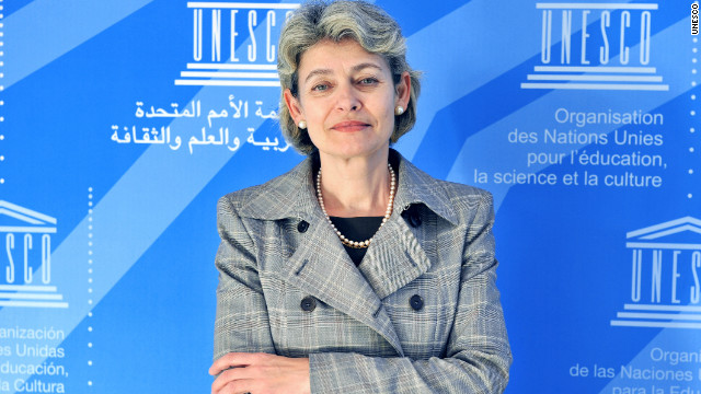 UNESCO Director-General, Irina Bokova