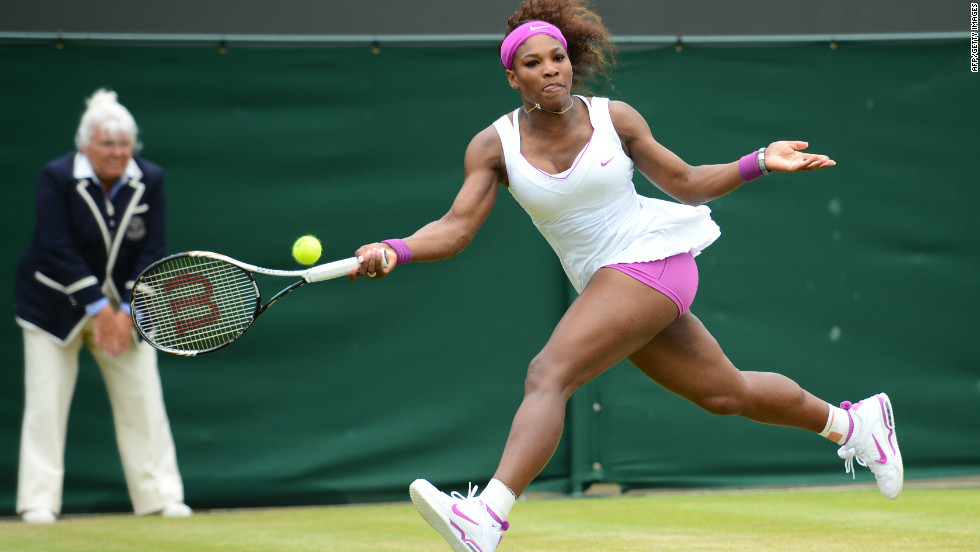 The American sixth seed progressed despite losing the second set against Kazakhstan's Yaroslava Shvedova on day seven at the All England Tennis Club.