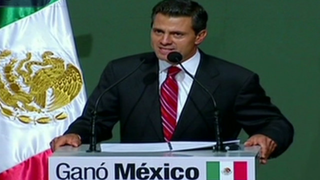 Officials:  Peña Nieto projected winner