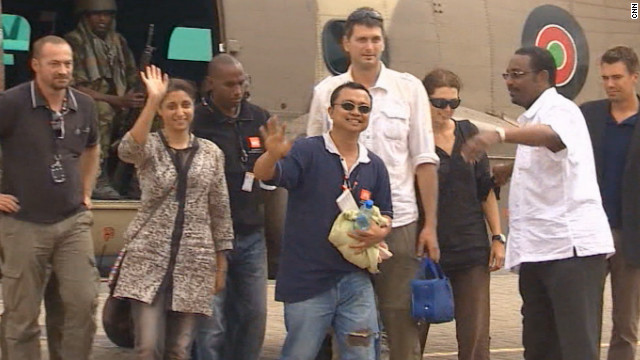 Freed aid worker: Happy to be alive
