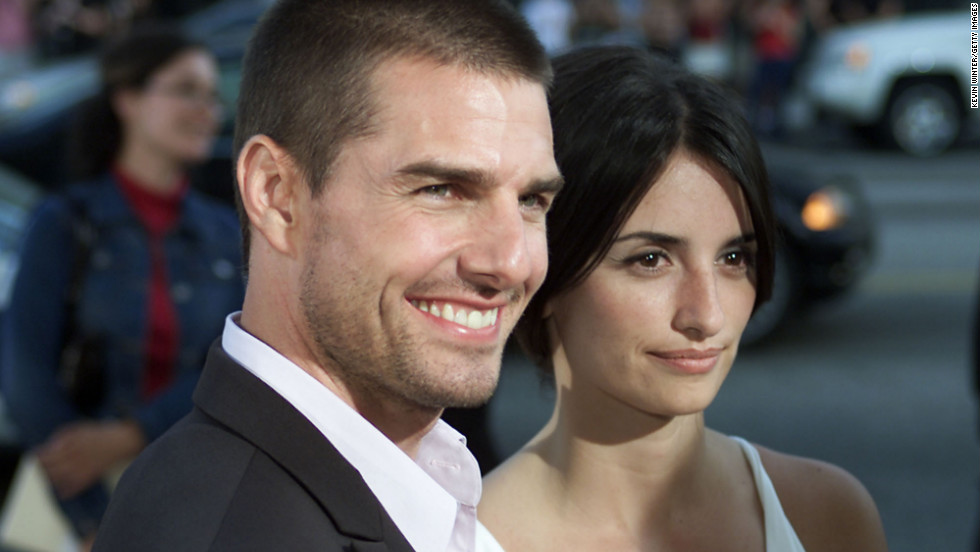"Cruise dated his ""Vanilla Sky"" co-star, Penélope Cruz, until 2004."