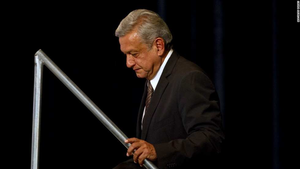 """The last word has yet to be said,"" Lopez Obrador, a former Mexico City mayor, said Sunday."