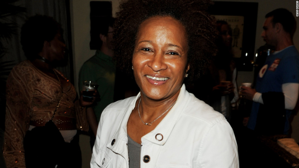 "Stand-up comedian and actress Wanda Sykes announced her sexual orientation -- and her marriage -- in 2008 at a rally for gay marriage. ""You know, I don't really talk about my sexual orientation,"" Sykes said. ""I didn't feel like I had to. I was just living my life, not necessarily in the closet, but I was living my life. ... But I got pissed off. They pissed me off. I said, 'You know what? Now I gotta get in your face.' "" Sykes was referring to the passage of Proposition 8, banning gay marriage, in California days after her wedding."