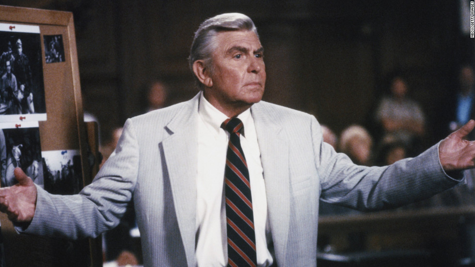 "Griffith also starred in the television legal drama ""Matlock"" from 1986 through 1992 on NBC and from 1992 until 1995 on ABC."