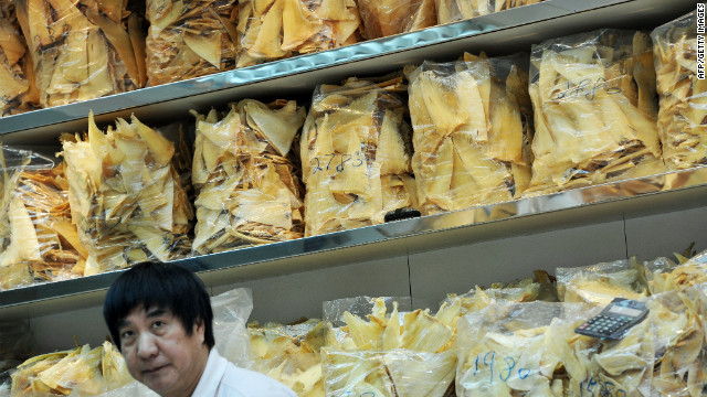 China cracks down on shark fin soup