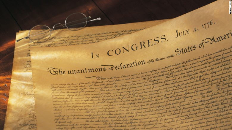Typo in the Declaration of Independence?