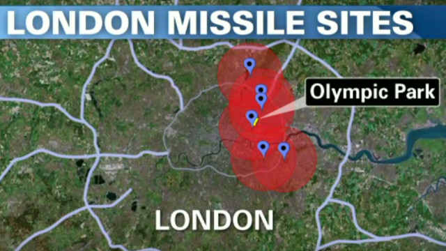 Missiles to be mounted on London roofs