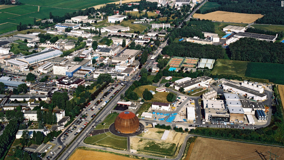 "CERN's Globe of Science and Innovation exhibition center and surface buildings, which provide access to the Large Hadron Collider, can be seen near Geneva, Switzerland. CERN Director General Rolf Heuer said, ""There is much benefit in combining the results of large experiments to reach the high precision needed for the next breakthrough in our field. By doing so, we achieve what for a single experiment would have meant running for at least 2 more years."""
