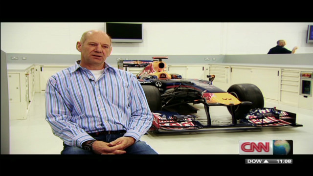 Design secrets of a Formula One car