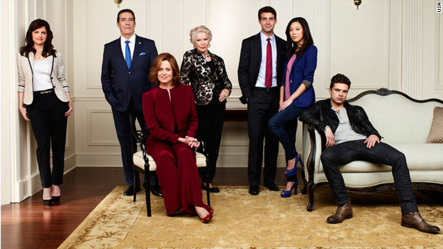 "Sigourney Weaver  leads the cast in the USA Network mini-series ""Political Animals."""