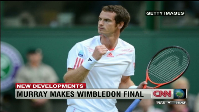 Murray makes Wimbledon final