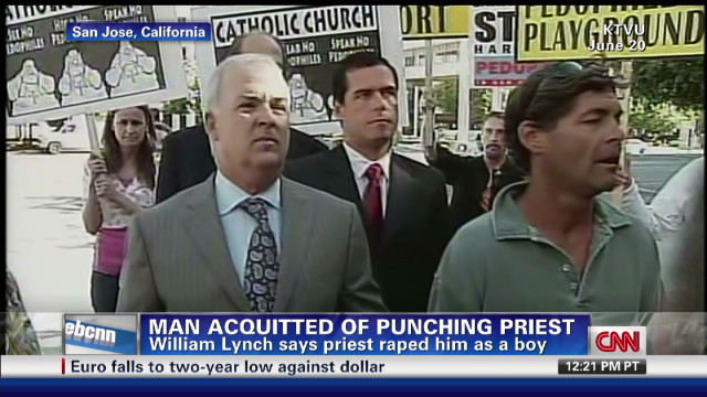 Man acquitted of punching priest