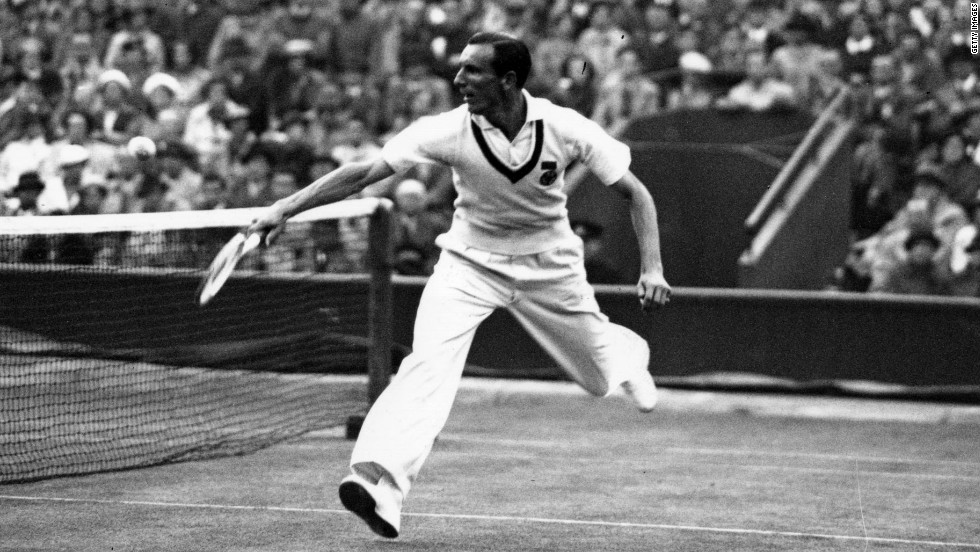 The last British winner of the men's singles title was the great Fred Perry, who won Wimbledon in three consecutive years between 1934, 1935 and 1936.