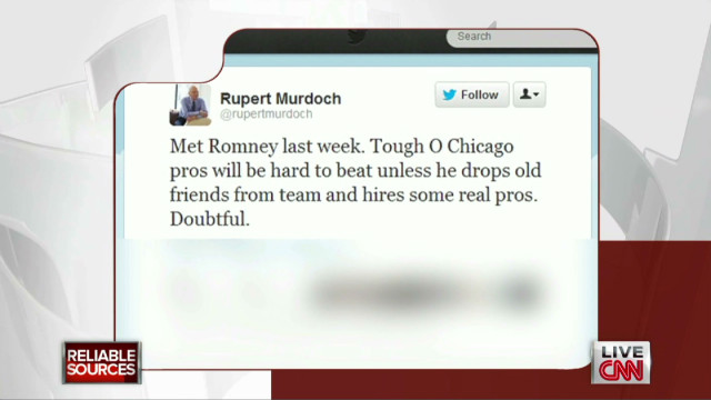 Murdoch takes on Mitt Romney