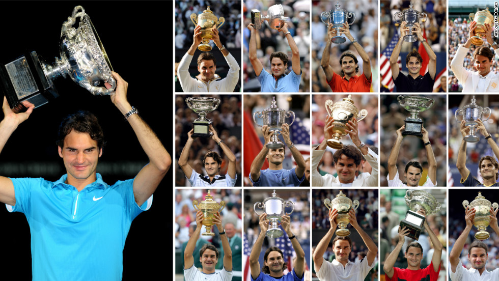 When Federer beat Andy Murray in the final of the 2010 Australian Open, it put him two past Pete Sampras' next-best 14 grand slam titles. He would have to wait until July 8, 2012 before lifting another, beating Murray again in the Wimbledon final.