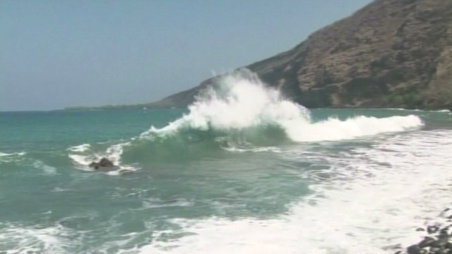 Rogue wave sweeps teen into ocean