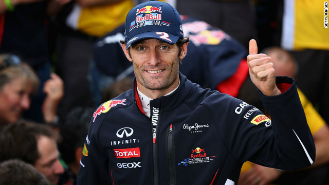 Mark Webber and Fernando Alonso are the only drivers to win more than one F1 race in the 2012 season so far