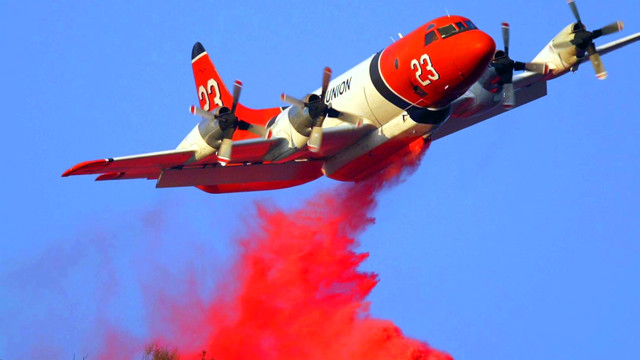Fighting fires: From ground or air