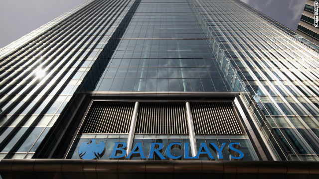 Barclays Bank was fined  £290 million for manipulating the Libor inter-bank lending rate