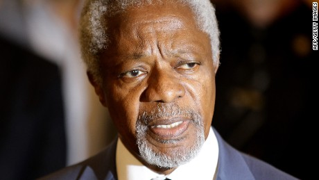 Kofi Annan: PM Netanyahu trying to 'sabotage' Iran talks