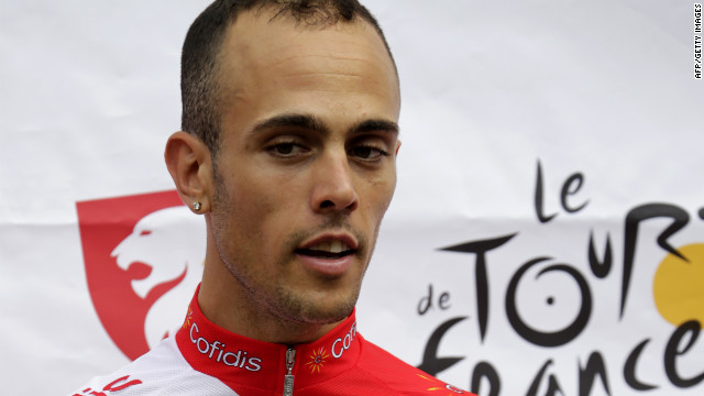Remy di Gregorio has been suspended by French cycling team Cofidis following his arrest.